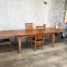 vintage stickley dining table u0026 chairs u2013 urbanamericana