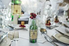 miniature jameson bottle as a favour for the guests on your