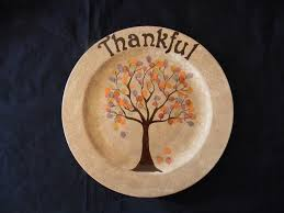 painted platter paint your own pottery thankful platter with thumbprints for