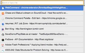 ccp command palette chrome web store