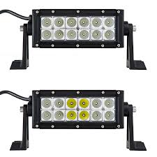 6 inch light bar 6 off road led light bar 18w 2 300 lumens led light bars for