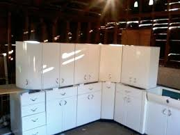 Best Metal Cabinets Images On Pinterest Metal Cabinets - Metal kitchen cabinets vintage