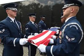 Flag Folding Vietnam Veteran Honored In D C U003e Joint Base Andrews U003e Display
