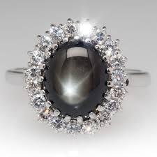 black sapphires rings images Vintage black star sapphire ring vintage jewelry pinterest jpg