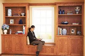 built in bookcase and cabinet plan