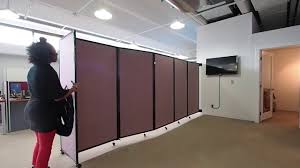 Office Room Divider Create Instant Office Space With A Wall Mounted Room Divider