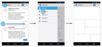 xamarin activity layout effective navigation in xamarin android part 1 navigation drawer