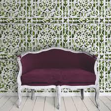 Garden Wall Railings by Muriva Railings Ornate Pattern Garden Motif Photo Wallpaper J99804