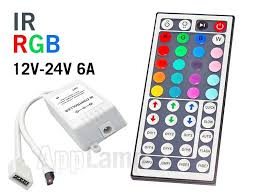 tape lights with remote ir rgb led strip controller with infrared receiver and 44 key remote