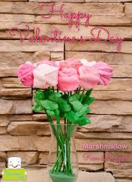 bouquet diy marshmallow rose bouquet