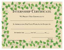 summer internship certificate format sample images certificate