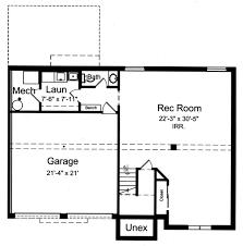 5 Level Split Floor Plans House Plans Drawn With Bi Level Split Foyer By Studer Residential