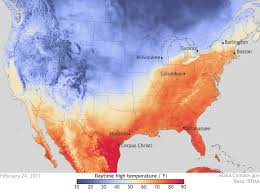 Mexico Climate Map by Late Winter U0027heatwave U0027 Hits The U S In February Noaa Climate Gov