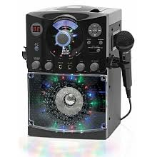 singing machine with disco lights singing machine disco light karaoke black cosmo communications