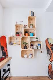 Wooden Box Shelves by 123 Best Caisse étagère Shelf Images On Pinterest Wood