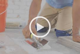 Installing Floor Tile Laying Out Floor Tiles At The Home Depot