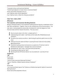 investment cover letter investment banking cover letter template