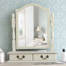 Cheap Shabby Chic Mirrors by Juliette Shabby Chic Champagne Trinket Mirror Cream Dressing
