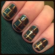 plaid nail designs gallery nail art designs