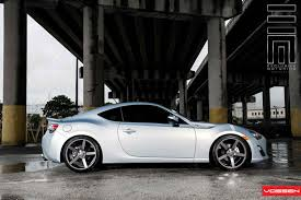 toyota frs car vossen wheels scion frs vossen cv3r
