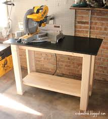 Build A Work Table Ana White Crab Fish Make A Work Bench Diy Projects