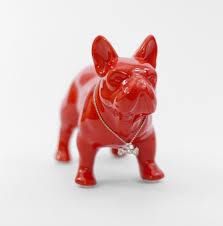 ceramic bulldog ornament bulldog home