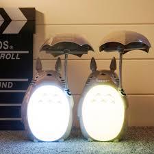 aliexpress com buy novelty cartoon totoro lamp kawaii led night