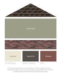 exterior color combinations for houses fresh color palettes for a brown roof