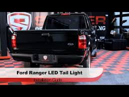 2001 ford f150 tail light assembly spyder auto installation 2001 05 ford ranger led tail lights youtube