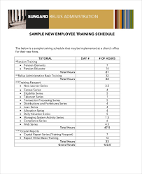 example of a monthly training plan 14146 82sample training plan