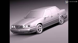 volvo eu volvo 850 sedan eu 1991 1997 3d model from creativecrash com youtube