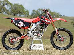 motocross bikes honda rocket exhaust honda crf250r project bike photos motorcycle usa