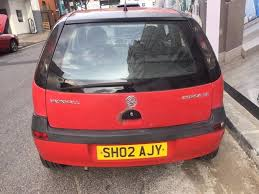 all day cars vauxhall corsa 2002 5 door hatchback 1 2 petrol