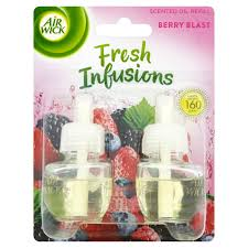 scented indoor l oil air wick berry blast fresh infusions scented oil refill 2pk 38ml at