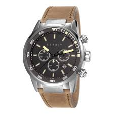 Jam Esprit jam tangan original esprit alaric light brown es108021004 esprit