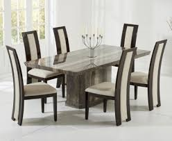 grey marble dining table buy the carvelle 200cm brown pedestal marble dining table with