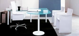 Glass Office Desk Glass Desk Contemporary Commercial Valeo By G U0026r Fauciglietti