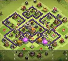 layout coc town hall level 7 top 20 best th7 war base 2018 new 3 air defenses anti 3 stars