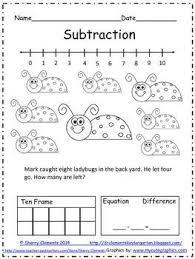 47 best subtraction images on pinterest teacher pay teachers