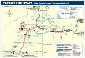 Alaska Ferry Map by Klondike Canoe U0026 Bike Tour 9 12 Days Tours Rentals Sales
