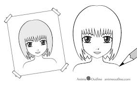 tips on how to learn how to draw anime and manga anime outline