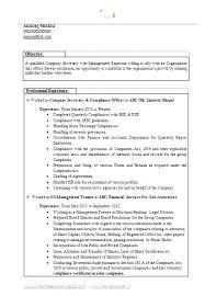 executive secretary resume cover letter samples sample of for best
