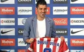 David Villa Atletico