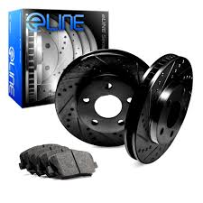 lexus ls 460 brake pad replacement 2007 2009 lexus ls460 front black drilled slotted brake rotors