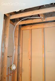 diy custom shower 3 installing schluter kerdi
