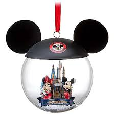 your wdw store disney ornament 40th anniversary ears