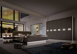 Modern Style Bedroom Furniture Bedroom Bespoke Built In Fitted Wardrobe Mirrored Modern