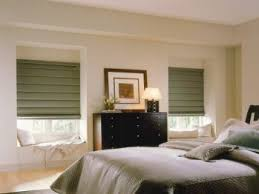 Mock Roman Shade Valance - faux and wood blinds