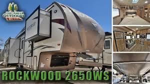 Rockwood Fifth Wheel Floor Plans by 29ft 5th Wheel 2017 Forest River Rockwood 2650ws R1100 Colorado