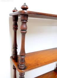 mahogany shelf unit antiques atlas